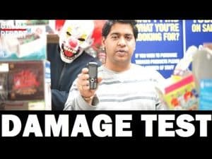 Is The Zanco Phone Indestructible? DAMAGE TEST #Science4DaMandem | Grime Report Tv