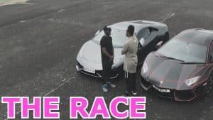 LAMBORGHINI RACE WITH MY BRO REMATCH