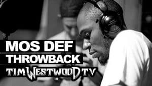 Mos Def freestyle 2000 first time ever released! Westwood Throwback
