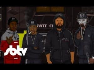 Parris Wright ft 67 Dimzy, LD & Monkey | Keep It 100 Remix (Prod. by Eazee): SBTV