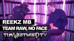 Reekz MB on No Face, Blueprint, 67 & 86 – Westwood