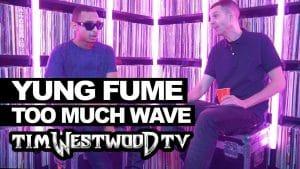 Yung Fume on Too Much Wave, Sidetings, Thornton Heath – Westwood