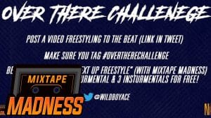 Fournine – #OverThereChallenge (Produced by @WildBoyAce) | @MixtapeMadness