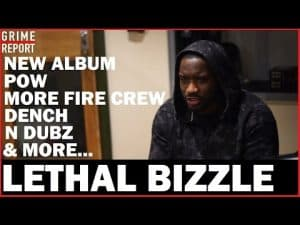 """Lethal Bizzle """"POW Is Grime's National Anthem"""" (Full Interview)#StorminsSmokePoint 