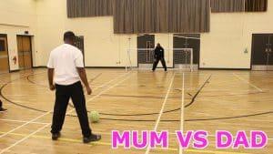 MUM VS DAD FOOTBALL CHALLENGE!!!