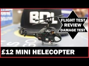 The £12 Mini Helecopter – DOES IT WORK FAM? (Science 4 Da Mandem) | Grime Report Tv