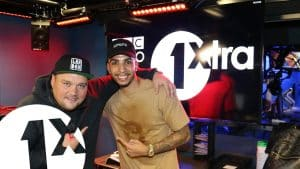 Troy the magician joins Charlie Sloth on BBC 1Xtra