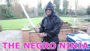 THE NEGRO NINJA