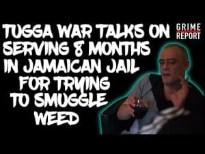 "Tugga War ""I Served 8 Months In A Jamaican Jail For Weed"" [Smoke Point] Grime Report Tv"