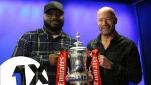 Alan Shearer Brings Ace his £1.5 MILLION FA CUP!