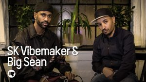 Big Sean talks about the story behind the album 'I decided' & more with SK Vibemaker