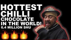 Trying The Worlds HOTTEST Chilli Chocolate (6.4 Million SHU) [Science 4 Da ManDem] Grime Report Tv