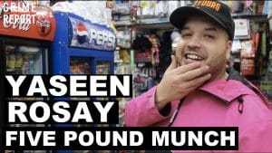 Yaseen Rosay – The Five Pound Munch [@Yaseen_Rosay] Grime Report Tv