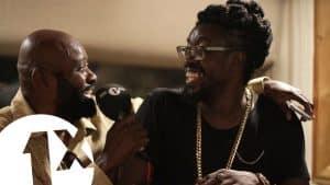 Beenie Man, Lt Stitchie & Josy Wells at King Jammy's studio Jamaica