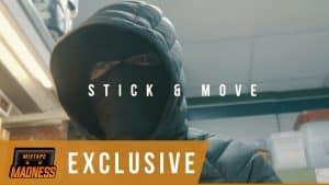 (BSIDE) 30 x BUCKFIDDY x DIZZ – Stick & Move (Music Video) | @MixtapeMadness (4K)