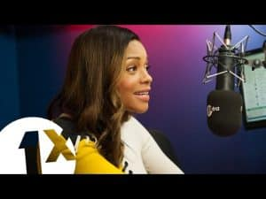 Charlie Sloth chats up Naomie Harris!