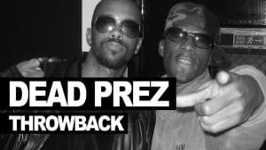 Dead Prez freestyle on Next Episode 2000 never heard before