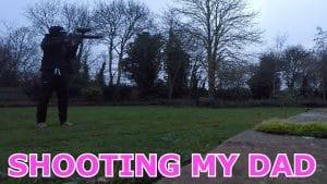SHOOTING MY DAD