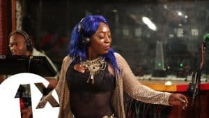 Spice – Sheet for BBC Radio 1Xtra in Jamaica 2017