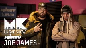 UK Rap Show: Joe James (Freestyle)