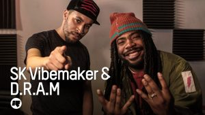 D.R.A.M talks about making music, his genre of 'Trappy go lucky' & more with SK Vibemaker.