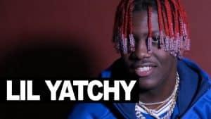 Lil Yatchy backstage London show