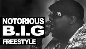 The Notorious B.I.G. freestyle 1995 #WeMissYouBIG