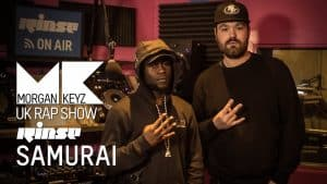 UK Rap Show: Samurai (Freestyle)