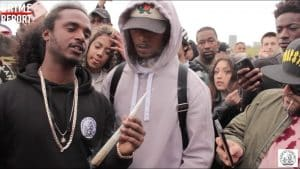 Black The Ripper ft Stoner – D.O.E (Video Shoot) @BlackTheRipper | Grime Report Tv