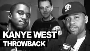 Kanye West backstage hosting Westwood TV – never seen before 2004