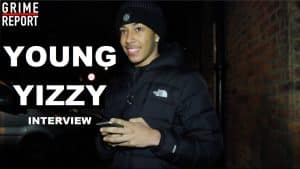 Young Yizzy Talks Getting Into Music, Influences & more @OfficialYizzy | Grime Report Tv