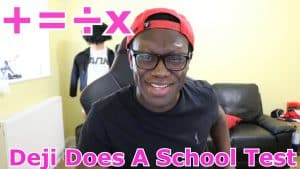 Deji Does A School Test (Never Done Before On Youtube)