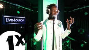 Mr Eazi performs Short Skirt in the 1Xtra Live Lounge