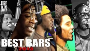 2013 Best Bars from Fire In The Booth inc. Lady Lykez, Nines, Giggs, Akala, Ghetts +more
