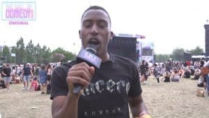 Asking Awkward Questions   At Wireless Festival With Yung Filly