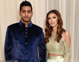 Amir Khan splits with wife and says shes sleeping with Anthony Joshua