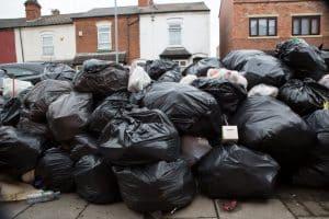 Birmingham streets covered in rubbish bags as bin strike enters fifth week