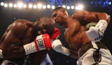 Anthony Joshua beats Joshua Takam #AnthonyJoshua #JoshuaTakam