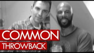 Common freestyle goes in! First time released Throwback 2000