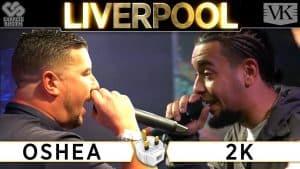 Rap Battle: Oshea vs 2K – The Plug Tour Liverpool