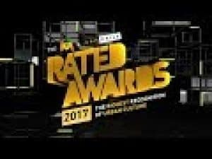 RATED AWARDS 17 PERFORMANCE – AJ TRACEY