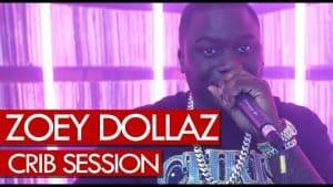 Zoey Dollaz freestyle – Westwood Crib Session