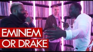 Akon & Demarco on Eminem or Drake – who's the greatest?