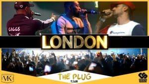 Giggs, Big Tobz, Mic Righteous, Big Shaq Live in London for The Plug Album UK Tour