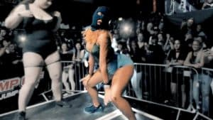 Masked Girl Storms Twerking Battle at The Jump Off 2017