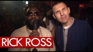 Rick Ross getting turnt up in London with Bottle girls