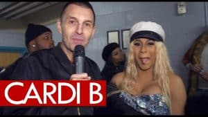 Cardi B on her engagement and gangsta wedding, 2 grammy noms, and why UK parties are the hottest!