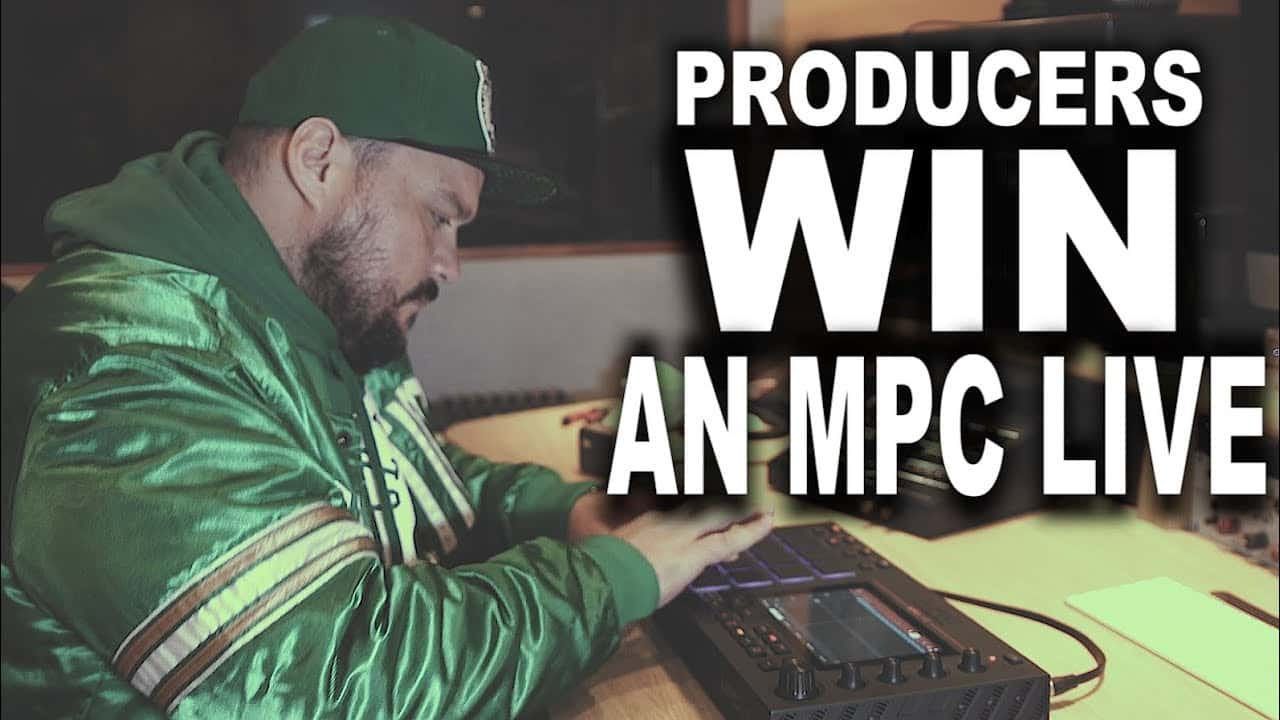 Producers! Win an Akai MPC Live Remix Competition