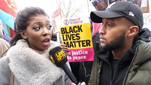 Stefflon Don, Black The Ripper, Ms Banks @ The National Anti-Slavery March London