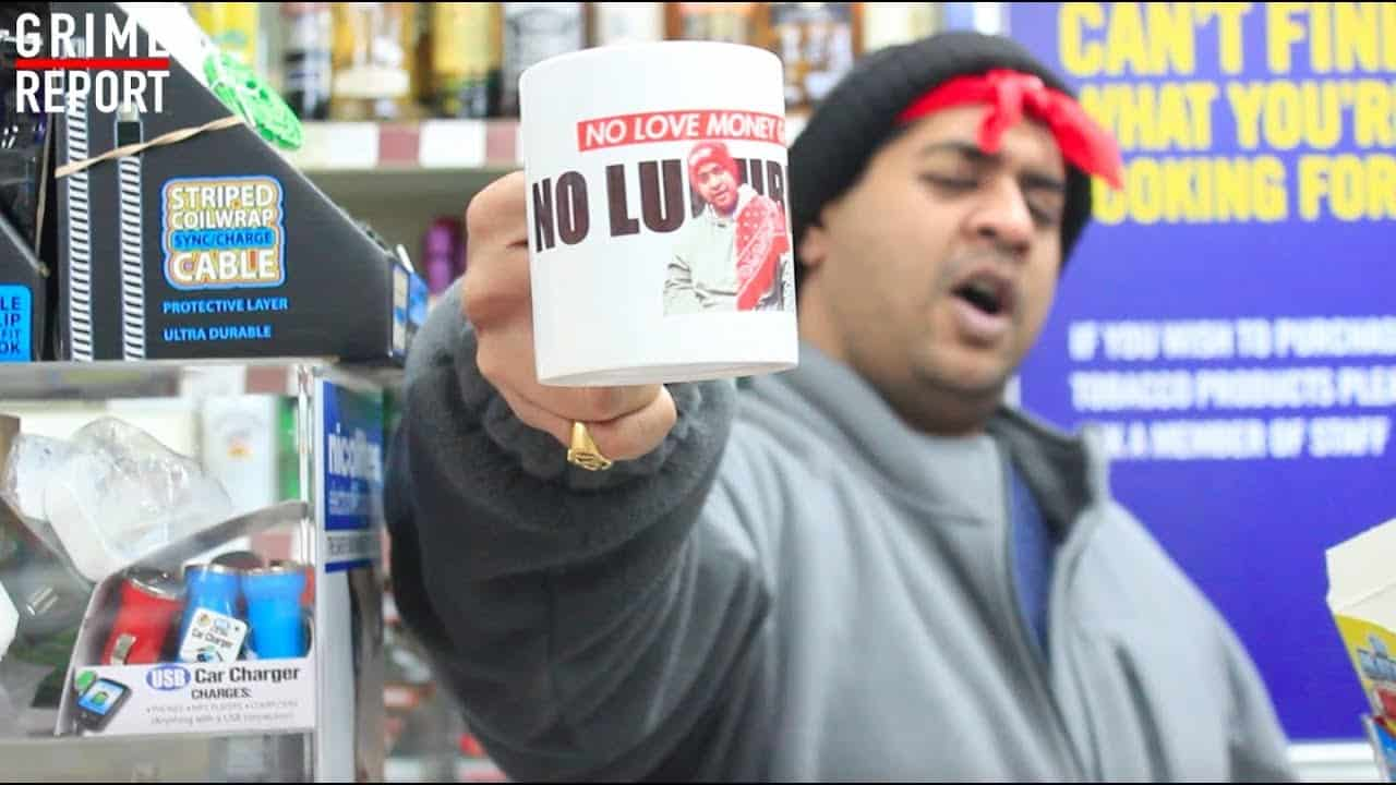 We Tried To Make An Advert For The Mugs… [@AngryShopkeeper] Grime Report Tv